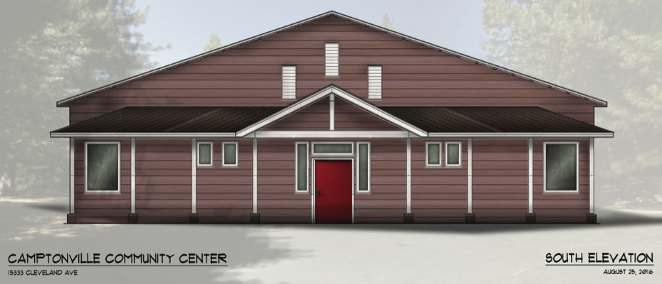 Camptonville Community Center Elevation